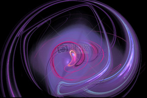 线路, 波, 光, 灯, 壁纸, 运动, 旋转, 抽象
