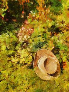 抽象派笔下的油画
