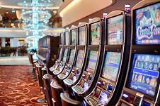 赌场里的游戏机