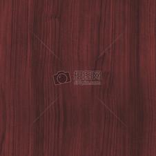 纹理清晰的红桃木