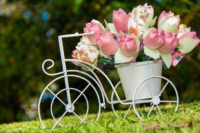 美丽的花朵装饰